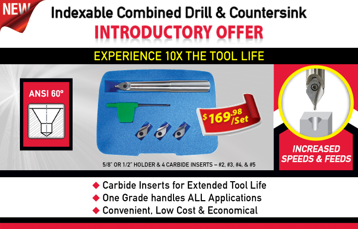 New Product - Combined Drill & Countersink
