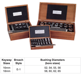 #90 DUMONT METRIC BROACH SET