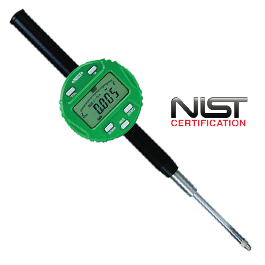 PRECISION DIGITAL INDICATOR W/ LUG BACK STEM DIA 3/8 THRD TIP 4-48UNF 0-2IN/0-50.8MM RANGE 0.00005IN/0.001MM GRADUATION 0.0004IN ACCURACY