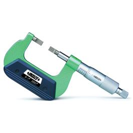 BLADE MICROMETER BLADE TIP:THICKNESS X WIDTH X LGTH=0.030X0.236X0.256IN RANGE 1-2IN