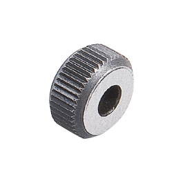 20MM STR. COARSE KNURL WHEEL (0.6MMTPI)