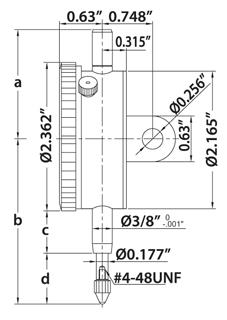INSIZE Dial Indicator SKETCH