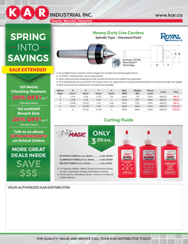 EXTENDED SPRING INTO SAVINGS SALE ON NOW; width=